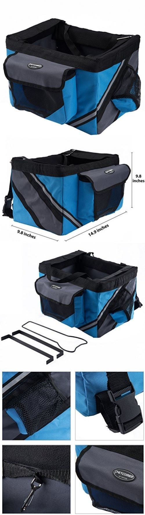 Bike baskets and trailers pettom portable pet cat dog bicycle