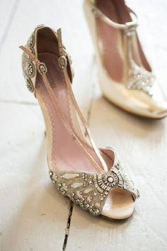 Art Deco Style Wedding Shoes