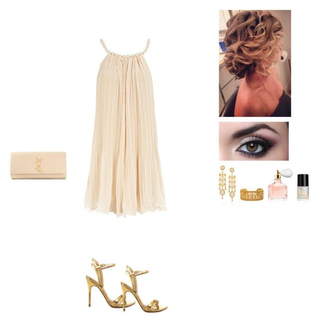 """""""Untitled #5"""" by missgolden ❤ liked on Polyvore featuring Dorothy Perkins, Ben-Amun, Crabtree & Evelyn, Guerlain, Yves Saint Laurent and Chinese Laundry"""