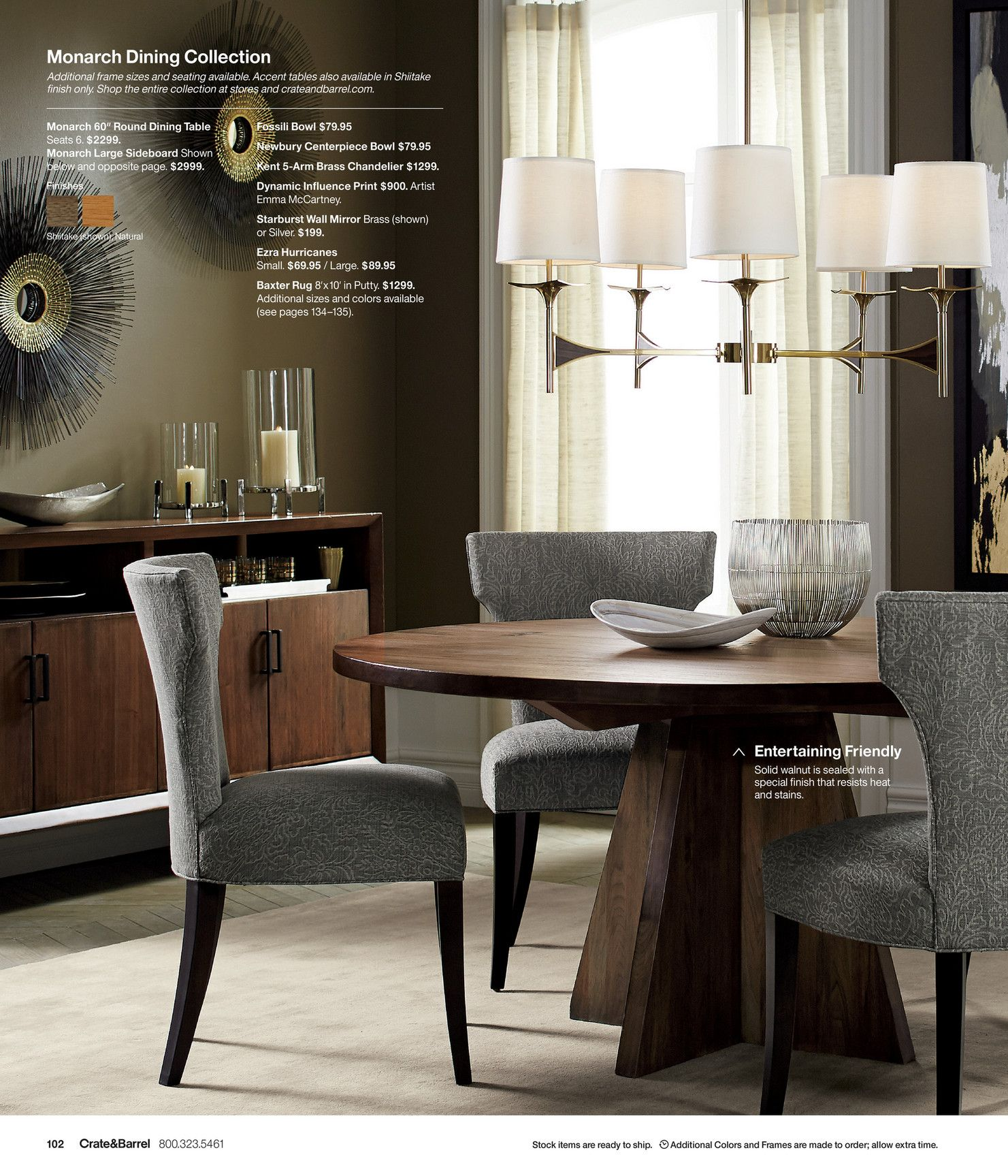 Monarch Dining Collection Additional Frame Sizes And Seating