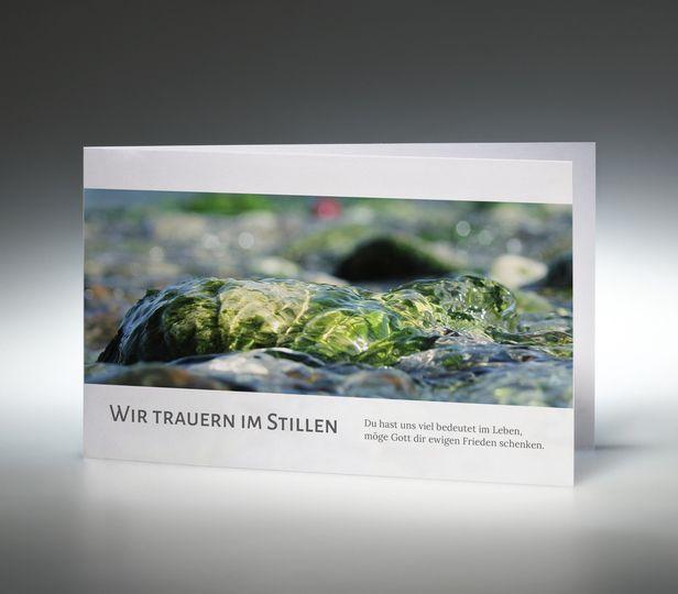 Trauerkarte Fluß