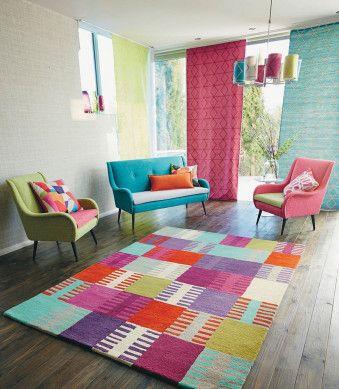 Design teppich navajo grape 26402 bunt kinderzimmer tr ume pinterest kinderzimmer teppich - Kinderzimmer bunt ...