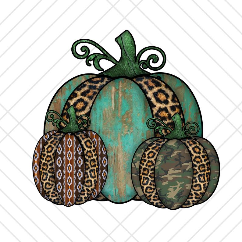 Aztec Camo Teal Pumpkin Patch Png Files For Sublimation Dtg Etsy Teal Pumpkin Stencil Patterns Templates 3d Tattoo
