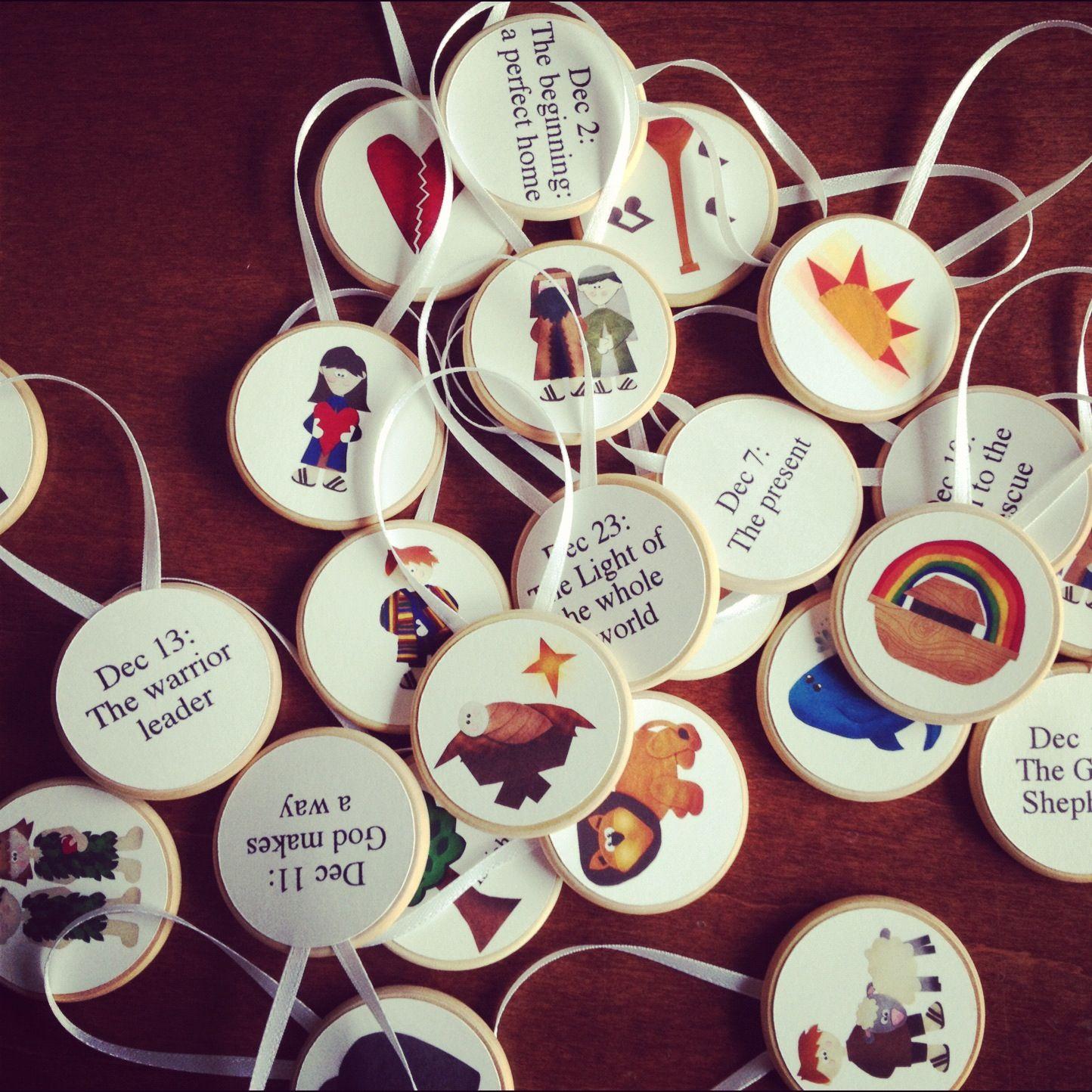 12 Days Blog Hop: Jesse Tree Advent with the Jesus ...