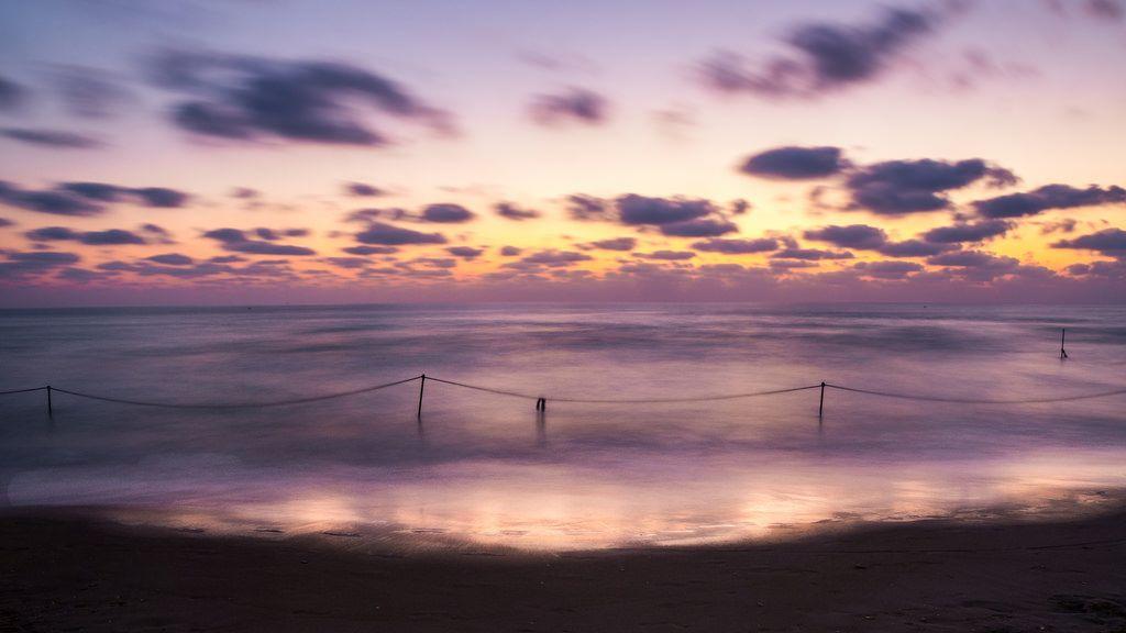 the beach in Haifa
