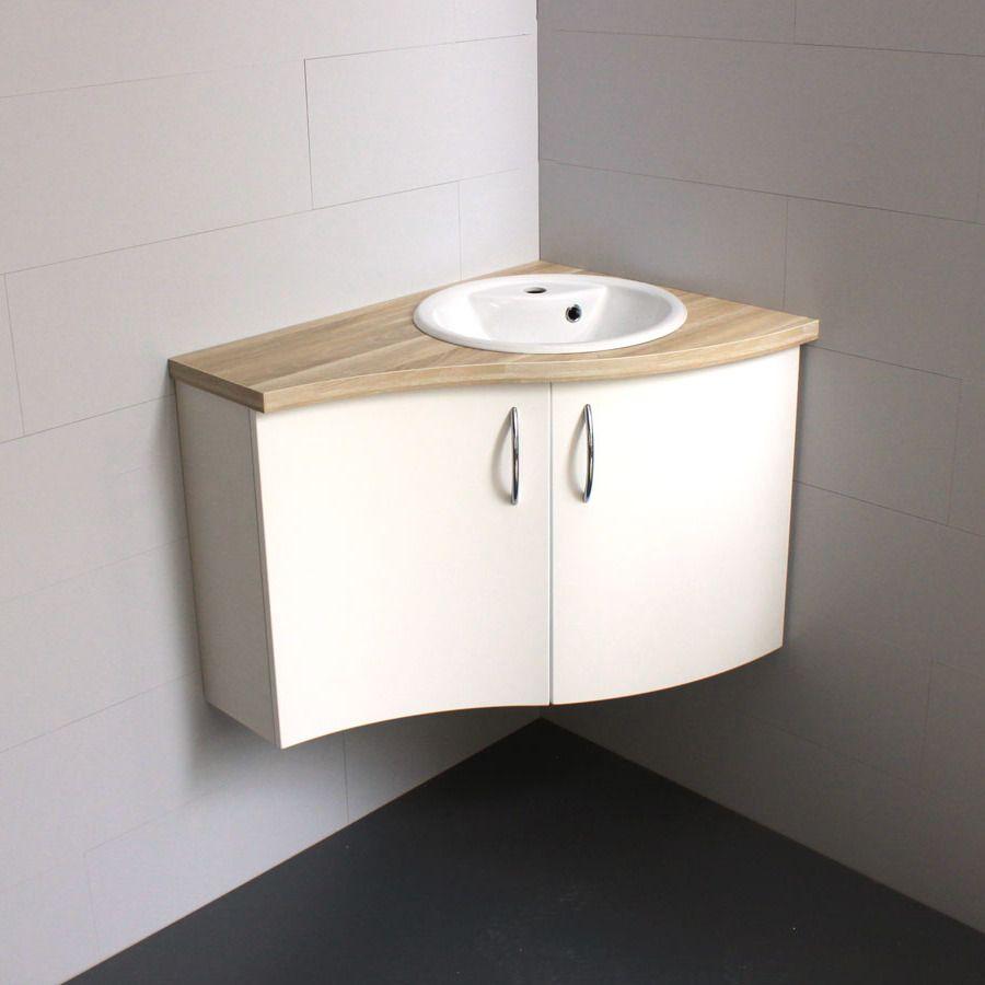 Vasque D Angle De Salle De Bain meuble d'angle salle de bains bornéo court droit | meuble d