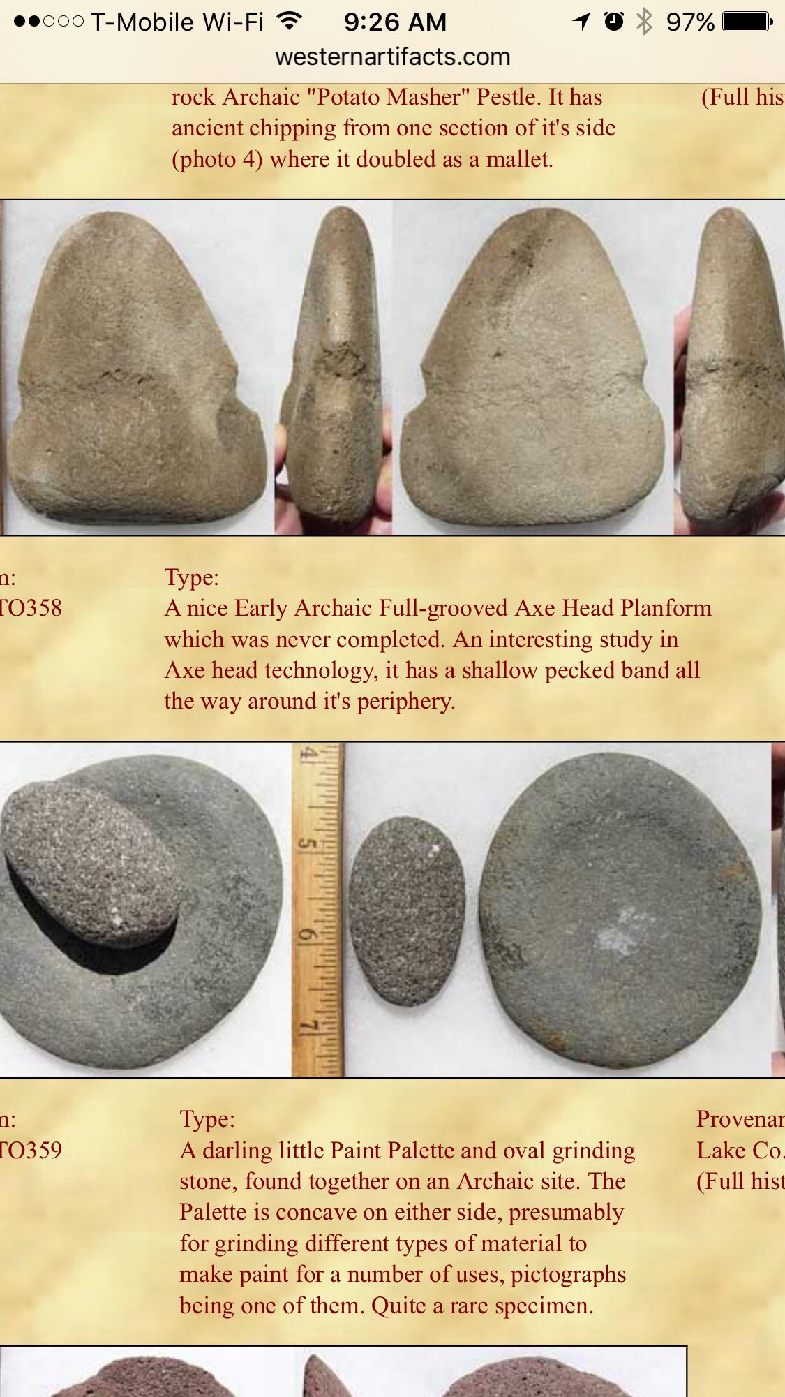 Pin by Kay Astra on Native American Artifacts, Stone Artifacts ...
