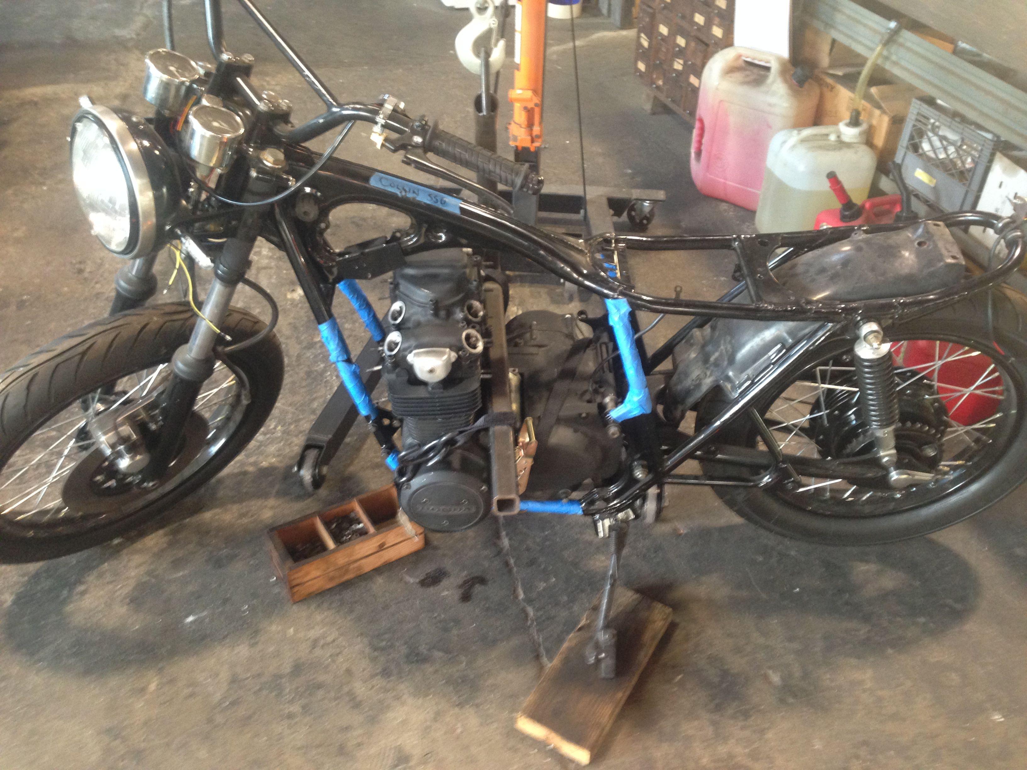 Engine Install Cerberusmotors Bicycle Installation Motorcycle