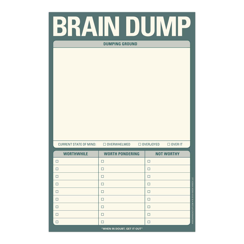 Brain Dump Pad