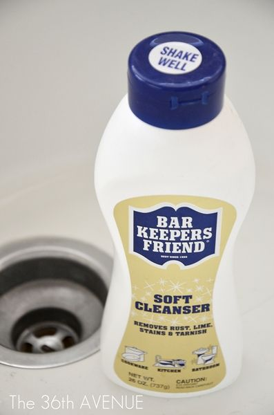 How To Clean A Porcelain Sink Cleaning Clean Porcelain