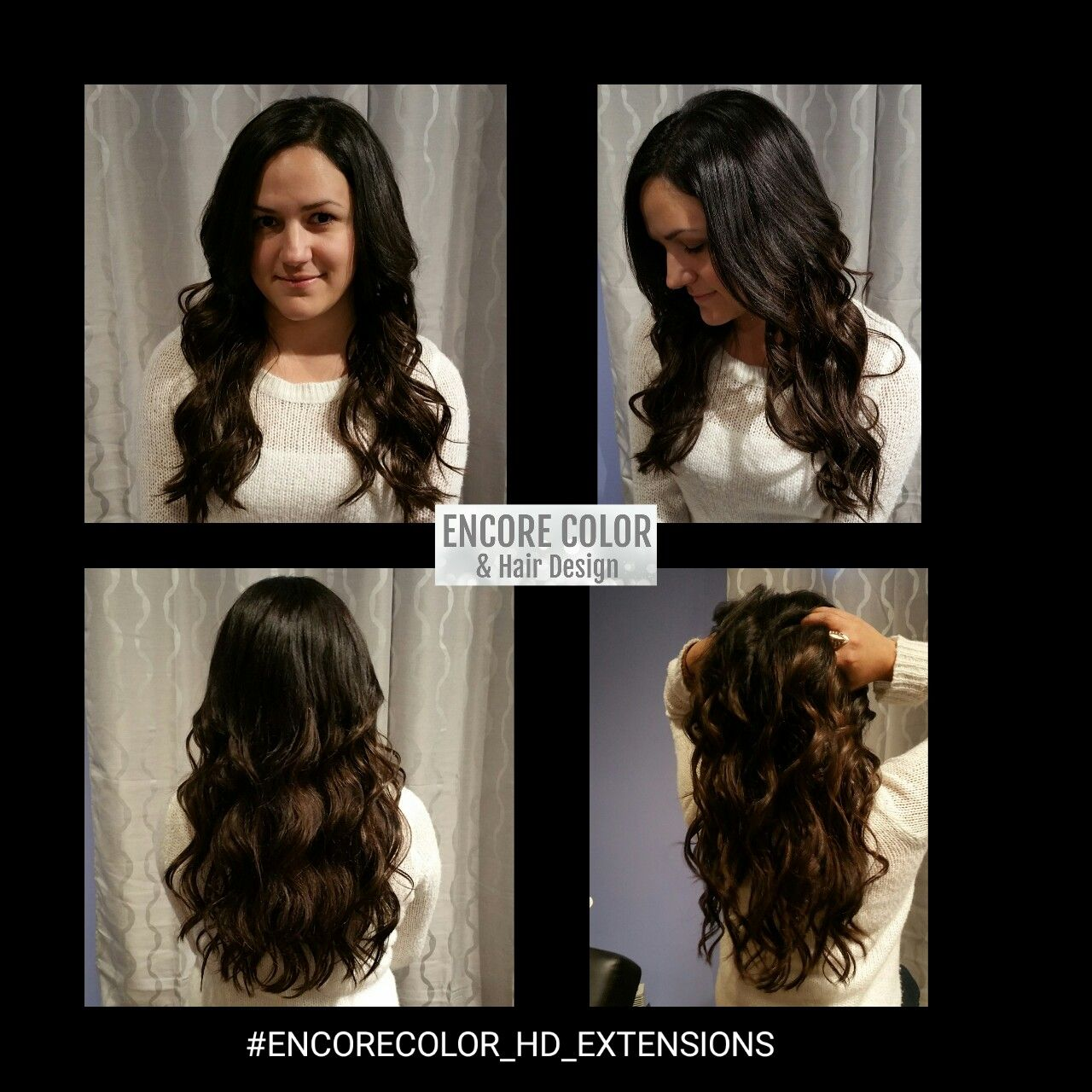 Ombred Microweft Extensions With Bohyme Luxe Hair Hair