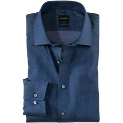 Photo of Olymp Luxor Shirt, moderne Passform, Global Kent, Navy, 39 Olympus