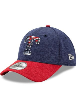 promo code 2a4bb f736e New Era Texas Rangers Mens Red 2017 4th of July 9FORTY Adjustable Hat
