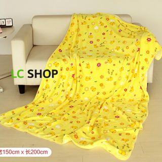 Floral Fleece Blanket from #YesStyle <3 Lazy Corner YesStyle.com