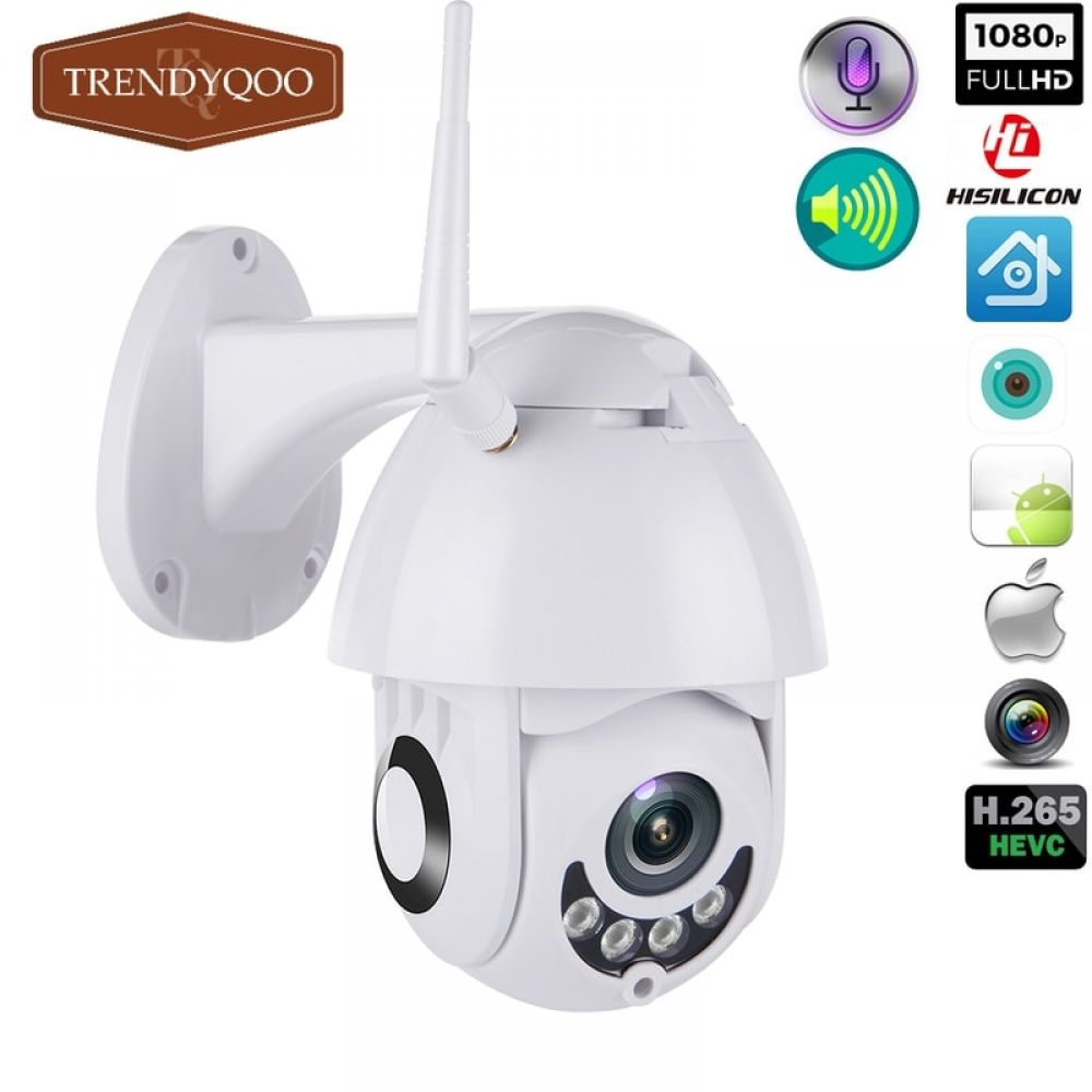 Wifi Ip Camera Outdoor 1080p Speed Dome Trendyqoo Cctv Security Cameras Wireless Home Security Wireless Home Security Systems