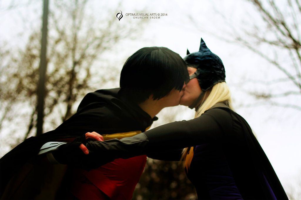 Batgirl (Stephanie Brown) and Robin by AjiaTaiga.deviantart.com on @deviantART  << IMMA SHIP THESE TWO TILL I DIE