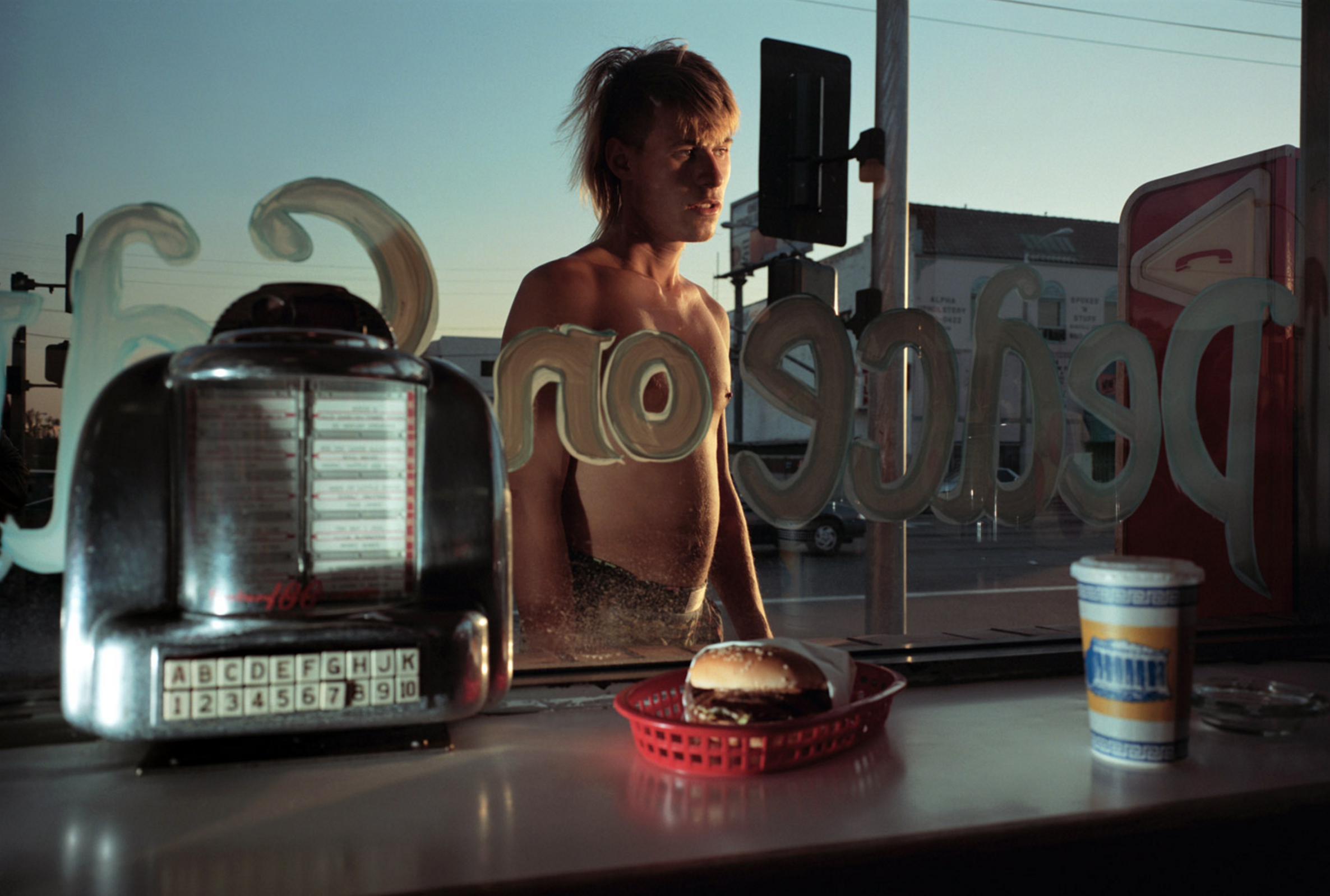 Philip-Lorca diCorcia Ike Cole, 38 years old, Los Angeles, California, $25 1990-92