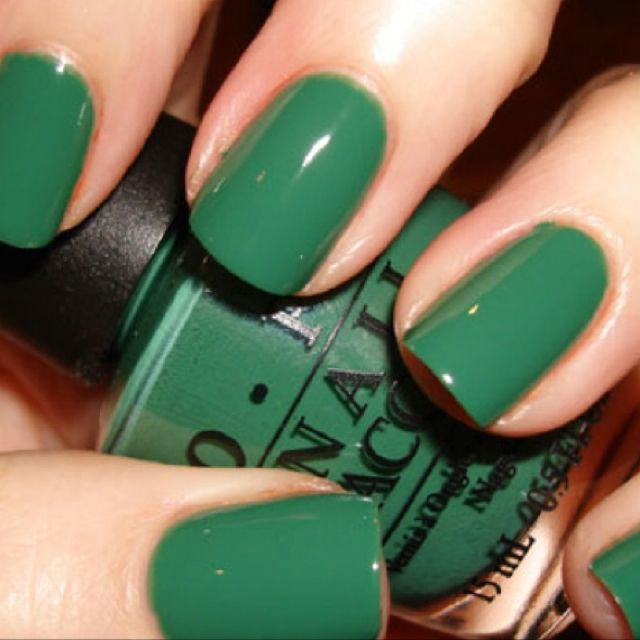 My new St. Patrick\'s Day color | Wellness | Pinterest | Stronger nails