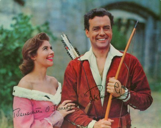 Richard Greene Patricia Driscoll The Adventures Of Robin Hood 8x10 Photo