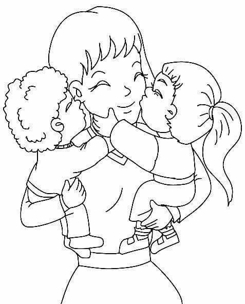 Boyama Anyak Napja Coloring Pages Mothers Day Coloring Pages