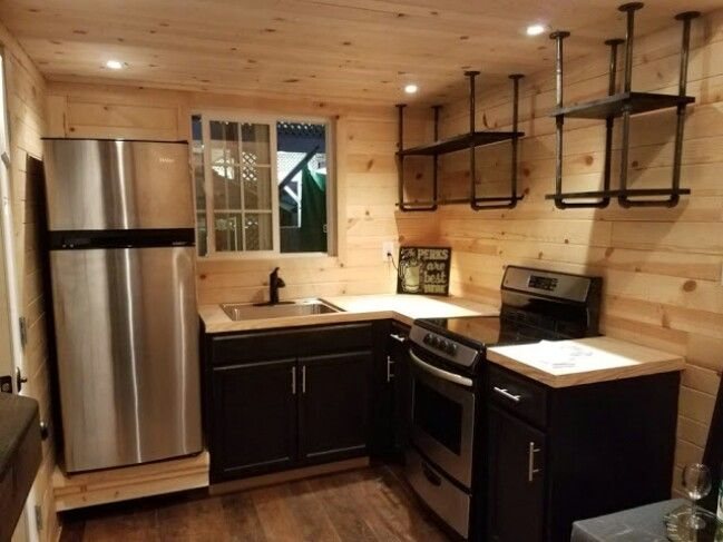 wonderful high end tiny house #3: KJE Tiny Homes Came up with an Unique High End 264 Sq Ft Tiny House