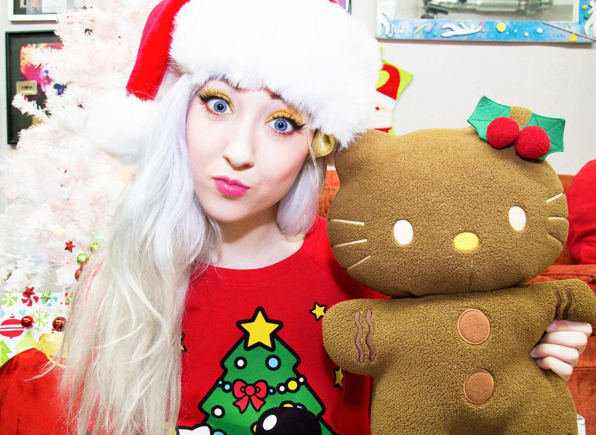 JapanLA x Hello Kitty Christmas Sweatshirt   General   Pinterest ... ddff759e31