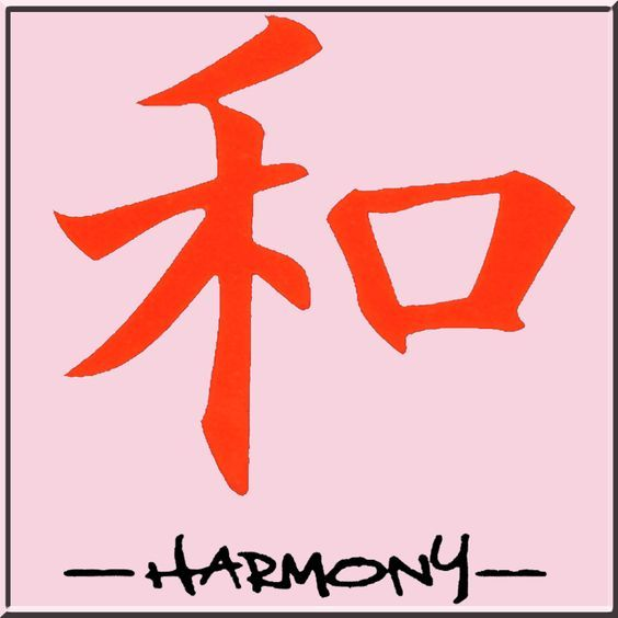 Image Detail For Japanese Chinese Harmony Chinese Symbol Of