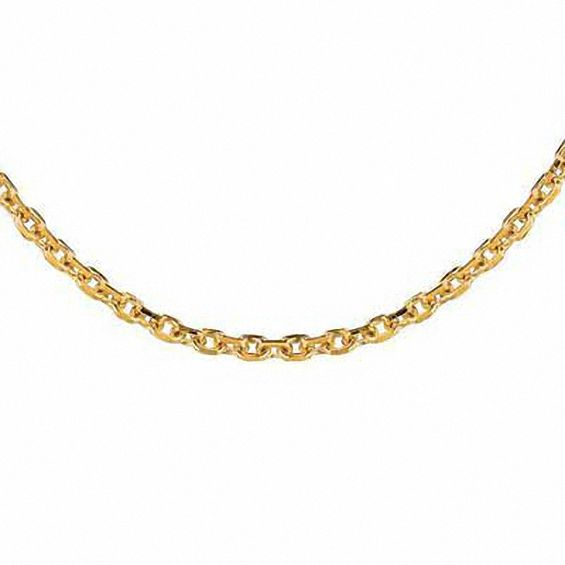 Zales 1.5mm Cable Chain Necklace in 14K Gold - 18 OqIlbkFUHZ