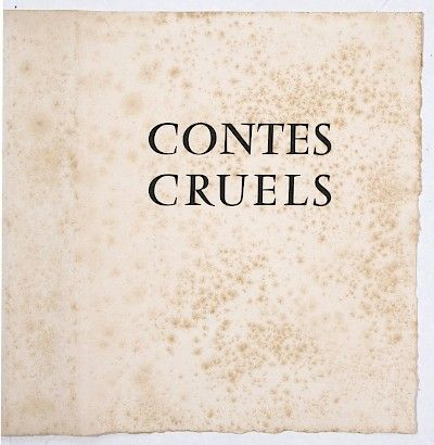 Contes Cruel - 1956 : Portfolio Cover at Davidson Galleries