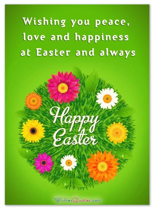 Easter greetings for friends and family easter greeting and easter make your family and friends happy on this special holiday by remembering them with unique easter greetings m4hsunfo
