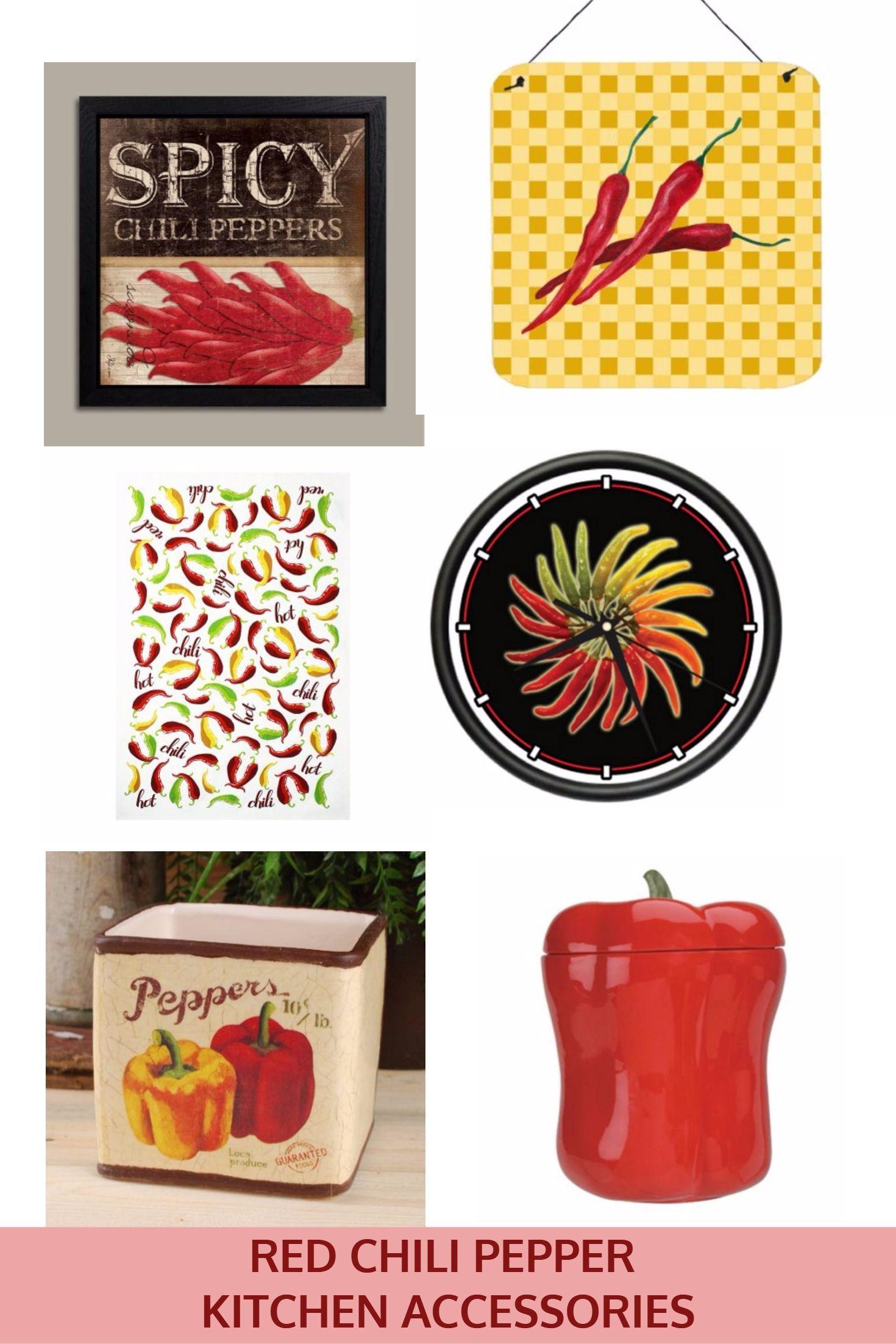 Chili Pepper Kitchen Decor Ideas Chili Peppers Decor Chili Pepper Stuffed Peppers