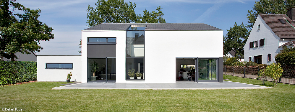 Fertighaus Modern Satteldach Emphitcom Moderne Architektur