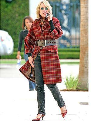 d4e568b547e diane ketton fashion style | Diane Keaton Rocks Skinny Jeans at 60! – Style  News - StyleWatch .