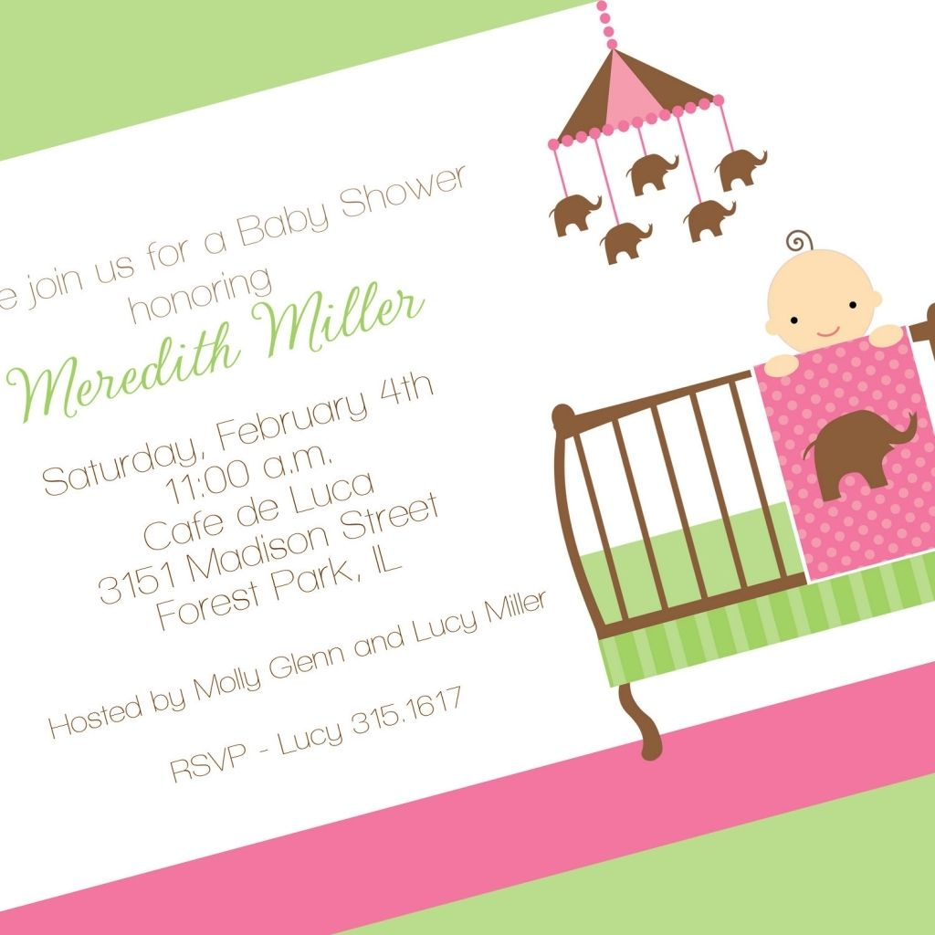 Cool Baby Shower Invitation Wording Elephant Theme On Baby Shower Consept  From 34+ Recommended Baby