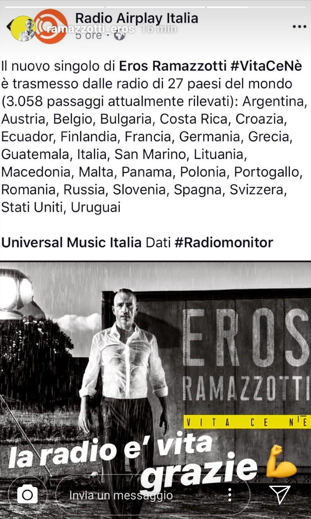 Pin Su Eros Ramazzotti