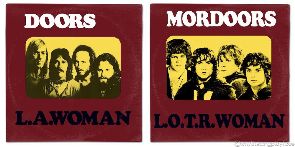 Lord of the Rings / The Doors Jim Morrison LA Woman vinyl