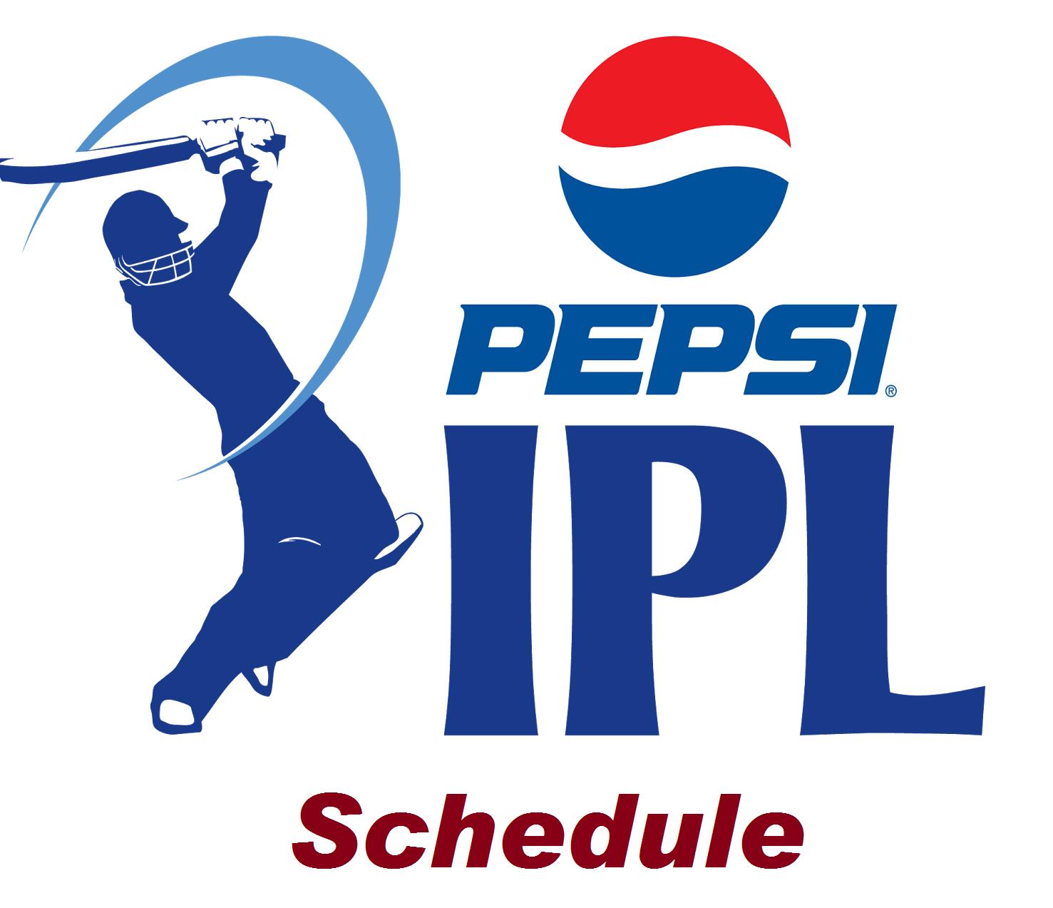 IPL 7 T20 Schedule, Timings 2014 Ipl cricket games