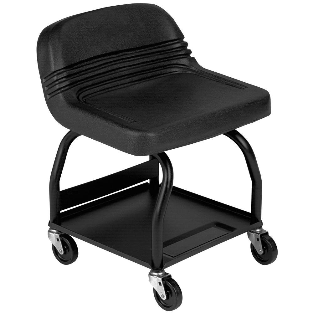Toolstud Heavy Duty Shop Seat Hrs Seating Stool With Wheels