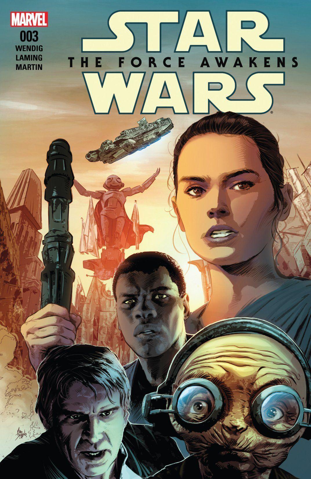 STAR WARS FORCE AWAKENS ADAPTATION #3 OF 6