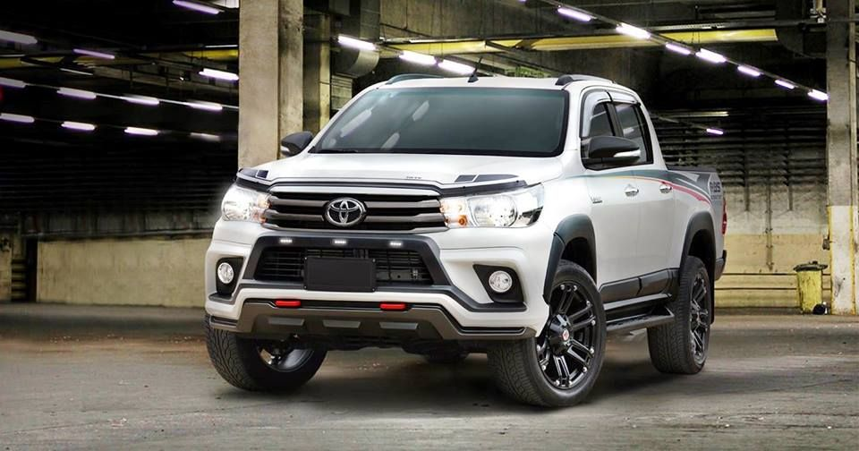 2016 toyota hilux revo 4runner etc pinterest. Black Bedroom Furniture Sets. Home Design Ideas