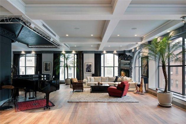 Nominee 4: Jon Bon Jovi\'s Chic NYC Duplex >> http://www.frontdoor ...