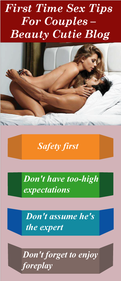 Best tips for first time sex