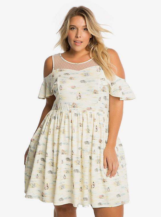 385347735e9 Star Wars Jakku Print Dress Plus Size