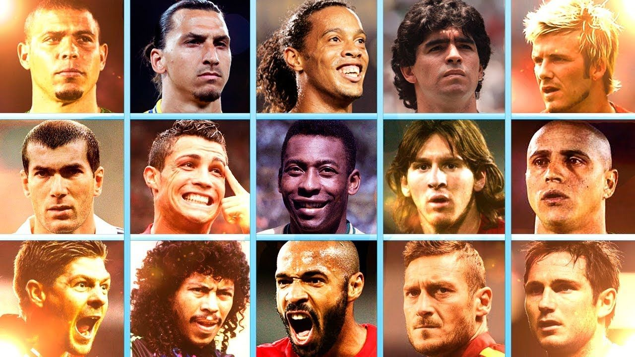 Top 100 Goals Scored By Legendary Football Players Football