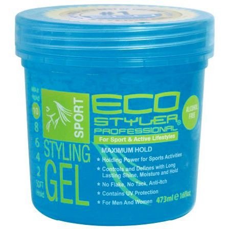 Eco Styler Color Treated Styling Gel Blue 16 Oz Styling Gel Eco Styler Gel Natural Hair Gel