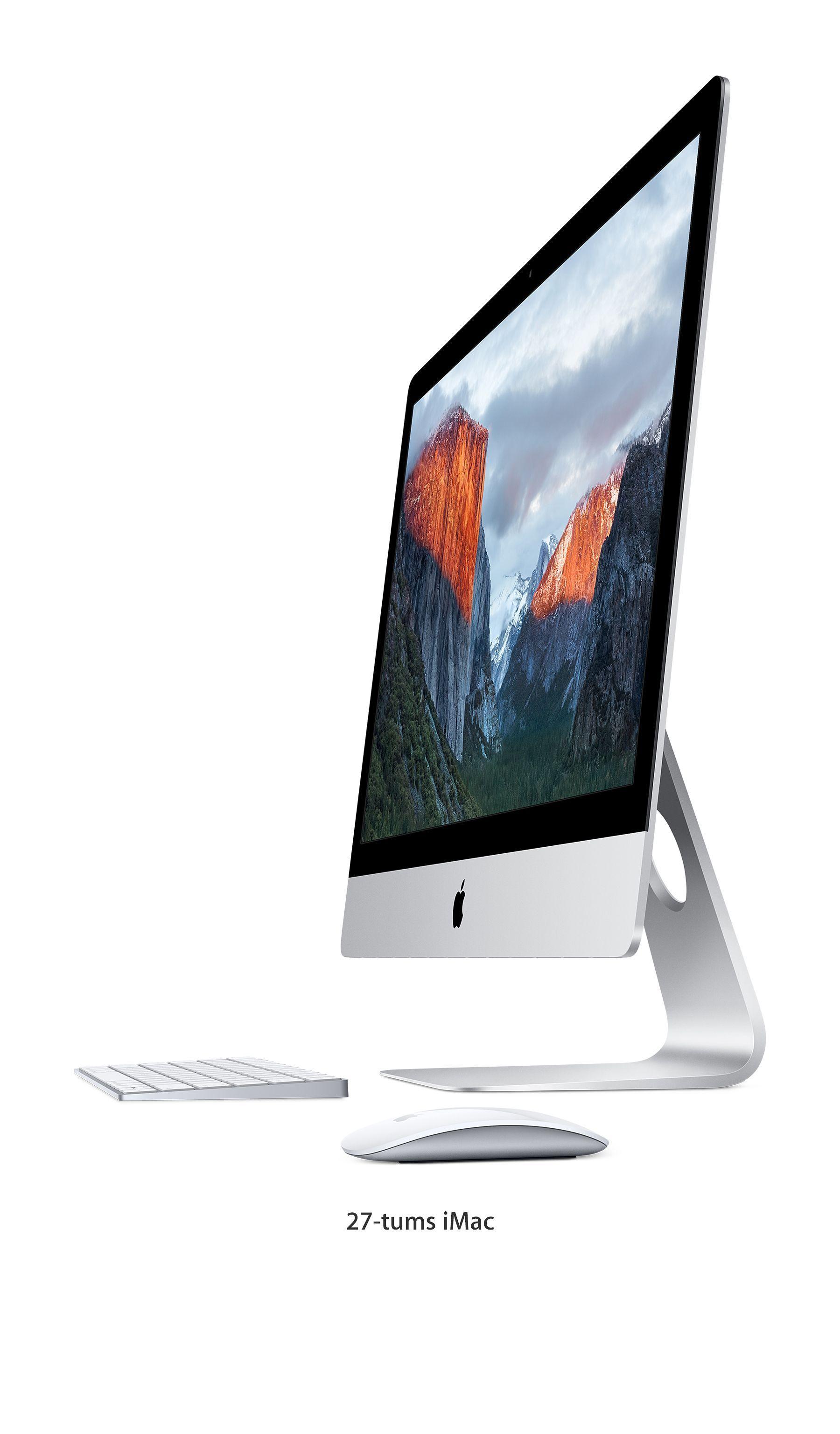 Frakt ingår när du köper iMac med Retina 5K-skärm från Apple Online Store.