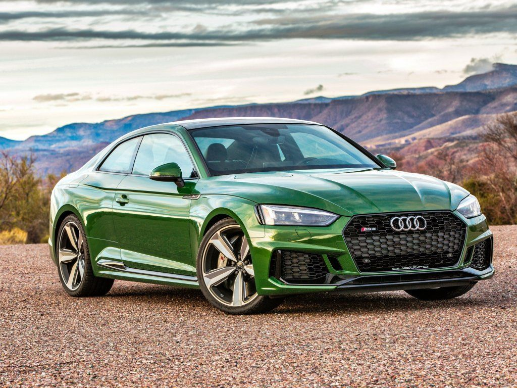 Audi Rs5 Green Luxurious Car Front Wallpaper Audi Rs5 Audi Wallpapers Rs5 Coupe