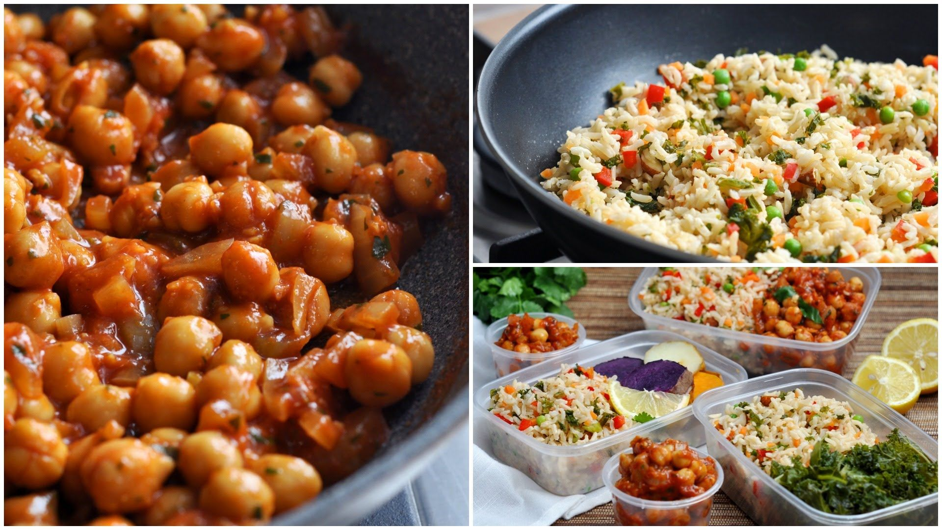 High-carb low-fat food preparation on a budget  Simple