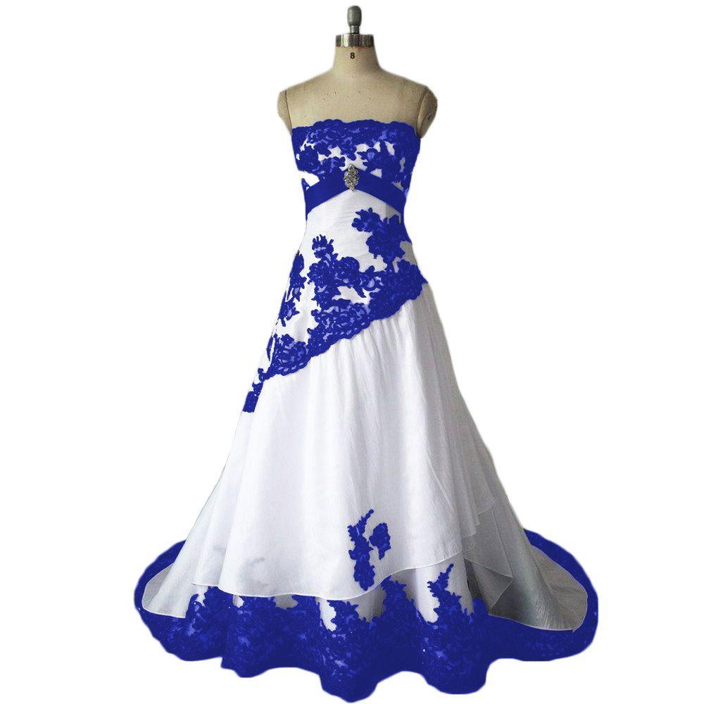New marriage dress wedding dress blue wedding dresses and wedding