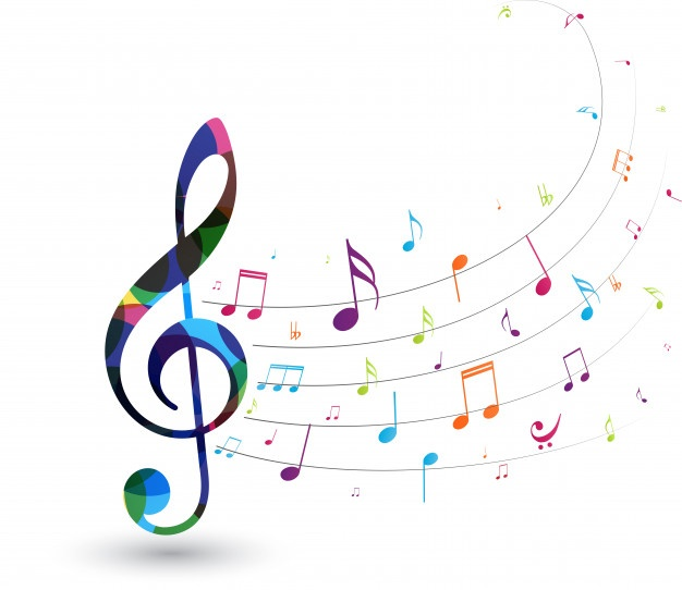 Notes De Musique Colorées | Image note de musique, Note de musique, Note de musique  dessin